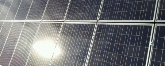 Solar Panels and Hail