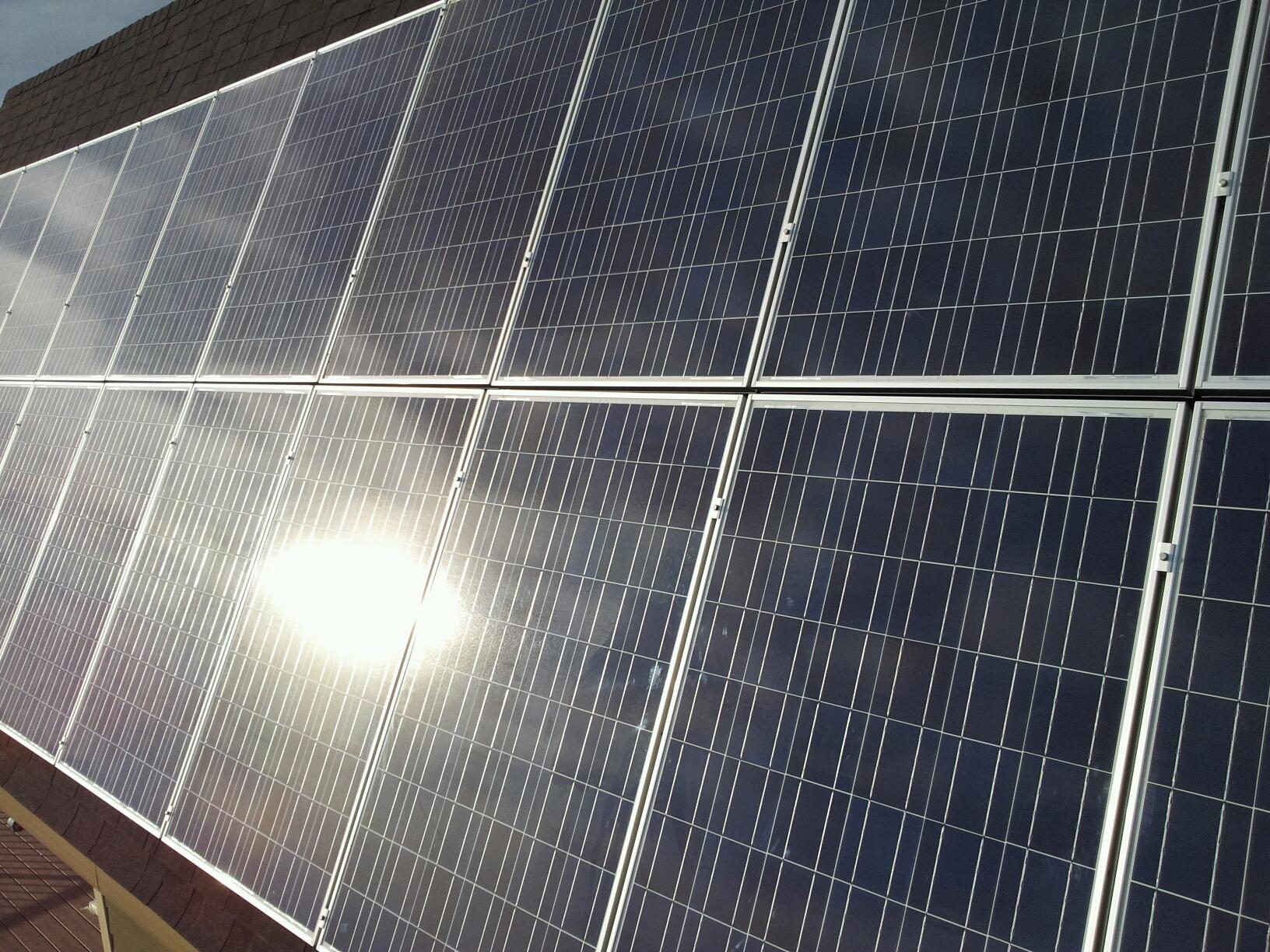 Solar Panels And Hail Suncatcher Solar Suncatcher Solar