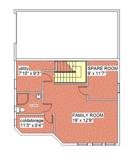Gardenview Solar Home Basement