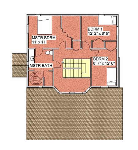 Gardenview Solar Home Upper Floor
