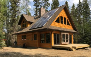 Superieur Remote Cabin With Off Grid Solar Power System