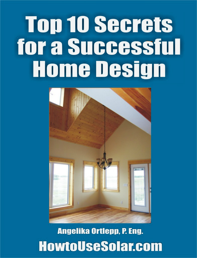 Passive Solar Home Design Free eBook