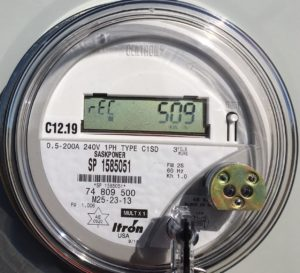 Solar Saskatchewan Meter - received from customer