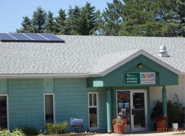 Solar Saskatchewan SPCA front