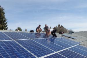 Suncatcher grid tied solar system install
