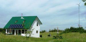 Solar Saskatchewan Our Home Exterior 2004
